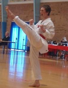 Jacob Vahlun til Jyske Mesterskaber i taekwondo